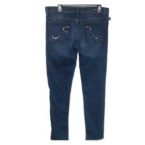Rock & Republic  Jeans skinny  sz 14 Stretch Dark